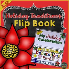 Holiday Traditions Flip Book I know it's not even Thanksgiving yet but..... here's a fun and easy holiday writing resource for your upper elementary classroom. This flip book comes with directions for students a pre-writing graphic organizer and a 5 page flip book. Enjoy! Thanks for looking! -Christina 3rd grade 4th grade 5th grade A Classroom for All Seasons Christmas Christmas writing holidays upper elementary