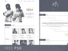 Fashion Agency Website Template PSD Freebie - Get Free Resources Website Layout, Web Layout, Fashion Agency, Fashion Models, Model Agency, Psd Templates, Website Template, Web Design, Free