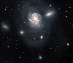 hubble space telescopic image of galaxy