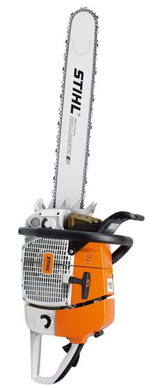Stihl MS880 Magnum. The Big Block of chainsaws. (Insert Tim the Toolman grunt here)