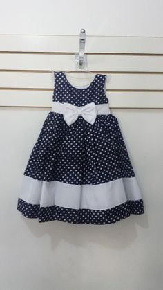 vestidos para niñas y adolescentes Frocks For Girls, Kids Frocks, Little Dresses, Little Girl Dresses, Cute Dresses, Girls Dresses, 50s Dresses, Elegant Dresses, Cotton Frocks For Kids