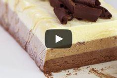 Triple Chocolate Semifreddo Recipe