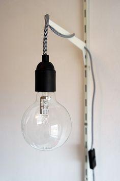 DIY: globelamp met strijkijzersnoer - Blog van KARWEI