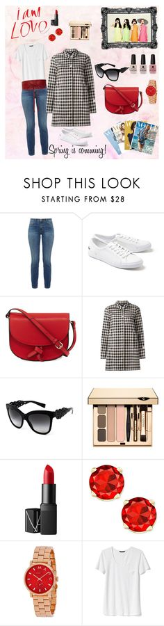 """Casual #2"" by queca-asensio on Polyvore featuring moda, Current/Elliott, Lacoste, KC Jagger, Woolrich, Dolce&Gabbana, NARS Cosmetics, Banana Republic y Victoria's Secret"