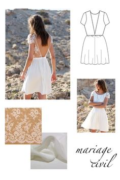 Inspirations pour coudre sa robe de mariée personnalisée #6 Sewing Clothes, Diy Clothes, Robe Diy, Summer Aesthetic, Fashion Sewing, Handmade Clothes, Clothing Patterns, Bridal Dresses, White Dress