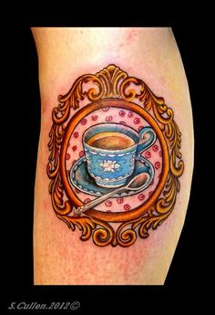 Tea Time Tattoo | tea time tattoo