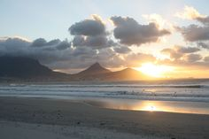 Clouds over Cape Town Milnerton Beach~South Africa Cape Town South Africa, Table Mountain, Most Beautiful Cities, Places Of Interest, Dream Vacations, Travel Destinations, Places To Go, Clouds, Adventure