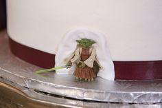 Star Wars Wedding Cake! #yoda #starwarswedding Addison I Do's — The Addison