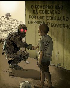 """The government does not give education because Education takes down a government"" ~~ isnt exactly an accurated translation Cyberpunk, Character Art, Character Design, Digital Foto, Satire, Oeuvre D'art, Graffiti, Illustration, Thoughts"