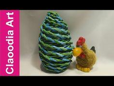 Jajko z papierowej wikliny (egg, wicker paper) - YouTube