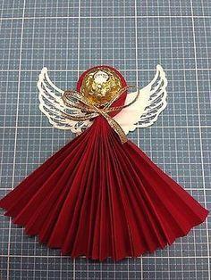 Ferrero Rocher Engel, Weihnachten, Mitgebsel, Kommunion, Taufe, Hochzeit, Deko