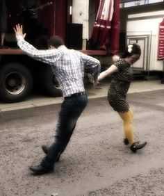 Ballydehob Jazz Festival dancing