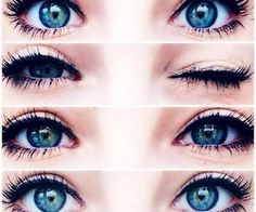 Beautiful Eyes Color, Most Beautiful Images, Pretty Eyes, Gorgeous Makeup, Best Beauty Tips, Beauty Hacks, Image Swagg, Blue Eyes Aesthetic, Rainbow Eyes