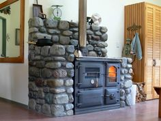 This is a fantastic set up for a stove