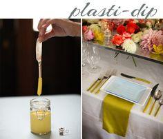Plasti-Dip utensils with peg-board flowers Home Crafts, Diy Crafts, Diy Tumblr, Diy Interior, Diy Craft Projects, Craft Gifts, Diy Wedding, Easy Diy, Crafty