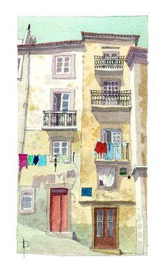 """""""Lisboa"""" por Miguelanxo Prado"""