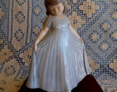 "A Flawless 1956 Royal Copenhagen ""Dancing Girl"" Figurine #2444 by Danish Sculptor Vilhelm Waldorff DENMARK"