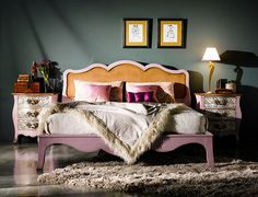 I'm loving this new style vintage bedroom, has single mum boudoir written all over it.
