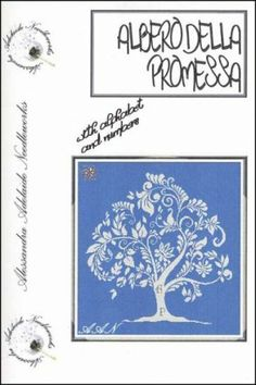 """""""Albero Della Promessa"""" (Tree of Promise) is the title of this cross stitch pattern from Alessandra Adelaide Needleworks and is a lovely des..."""