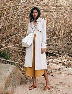 Pooja Mor for Massimo Dutti Spring-Summer 2018 Ad Campaign - Unique Women - Minimal. / Visual.