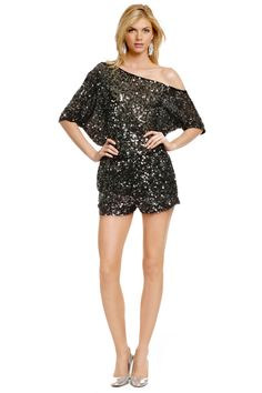 Sequin Disco Romper by Robert Rodriguez...you bet your little bottom I'll be sporting this at my Disco themed 25th birthday extravaganza ;)