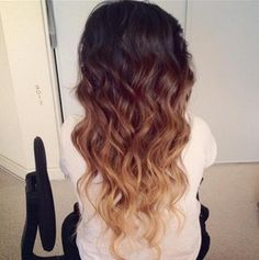 Triple Colour Dip Dye