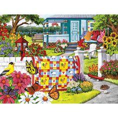 Serene Summer 300 Large Piece Jigsaw Puzzle