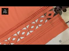 Sleeves Designs For Dresses, Sleeve Designs, Dress Designs, Tandoori Masala, Baby Frocks Designs, Salwar Designs, Jumpsuits For Girls, Frock Design, Origami