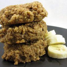 oatmeal banana breakfast cookies #vegan #recipe #EarthBalanceBackToSchool