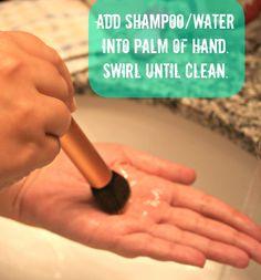 E l l e S e e s: How To: Clean Your Brushes The RIGHT Way
