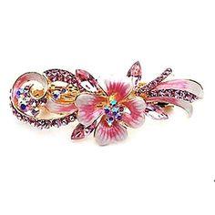 Women's Butterfly Crystal Diamond Hair Clip(10*3.8CM) – USD $ 6.39