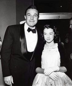 Gene and his daughter