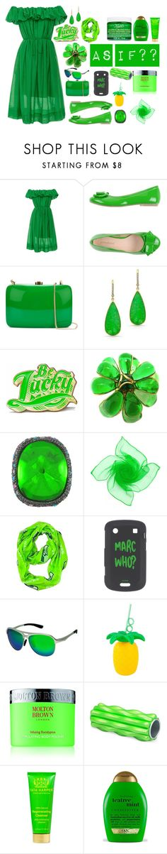 """""""64: Just Lucky...(Description)"""" by picking-daisies ❤ liked on Polyvore featuring Paule Ka, PrimaDonna, Rocio, Anne Sisteron, Marby & Elm, Gripoix, Kenneth Jay Lane, Breed, Sunnylife and Molton Brown"""