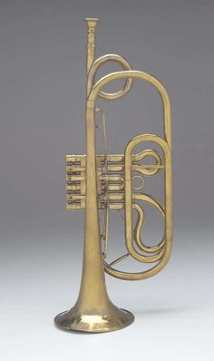 Valved trumpet about 1840 Charles Mahillon, Belgian, 1813–1887 Brussels, Belgium