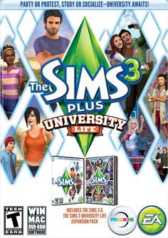 The Sims 3: University Life Free Download - GameMaza Download