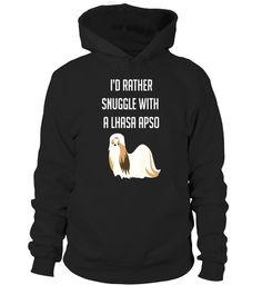 "# I'd Rather Snuggle With A Lhasa Apso Cute T-Shirt .  Special Offer, not available in shops      Comes in a variety of styles and colours      Buy yours now before it is too late!      Secured payment via Visa / Mastercard / Amex / PayPal      How to place an order            Choose the model from the drop-down menu      Click on ""Buy it now""      Choose the size and the quantity      Add your delivery address and bank details      And that's it!      Tags: This design is just one of many…"