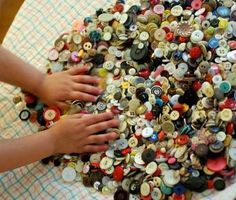 Remember getting in Grandma's, Button Mason Jar?