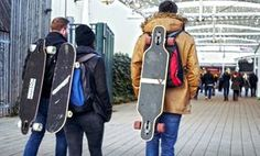 Deck Hook - Carry Any Longboard or Skateboard On Any Backpack Easily