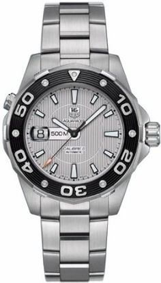 Buy TAG Heuer Men's WAJ2111.BA0870 Aquaracer 500 M Mens Automatic Watch