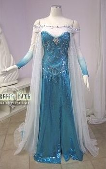 Elsa Cosplay Frozen costume