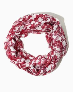 Ribbon Doilies Infinity Scarf | Fashion Accessories | charming charlie