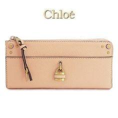 セール♪国内発送 【Chloe】オーロラ L字長財布