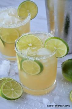 Skinny Margarita Recipe - Kitchen Concoctions
