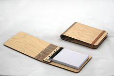 SNIJLAB's Reusable Wood Booklets Can be Flat-Packed | Inhabitat - Green Design, Innovation, Architecture, Green Building