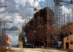 Shipbuilding - Norman Wilkinson (1878–1971)