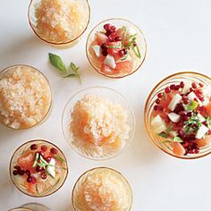 coffee granita watermelon granita cranberry pomegranate granita with ...