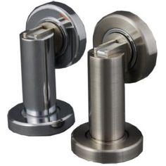 Magnetic Door Holder Satin  sc 1 st  Pinterest & Magnetic Door Holder Polished Chrome   Door Stops u0026 Holders ...