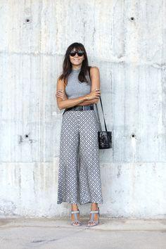 Grey lady. Un look atrevido para mujeres que aman la ciudad