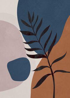 "Art abstrait 01 Mini Art Print par Flow Line – sans support – 3 ""x Art Et Illustration, Diy Canvas Art, Minimalist Art, Art Design, Modern Art, Art Drawings, Art Projects, Abstract Art, Abstract Pattern"