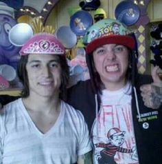Jaime Preciado & Tony Perry. These are the men-children that i totally love c: